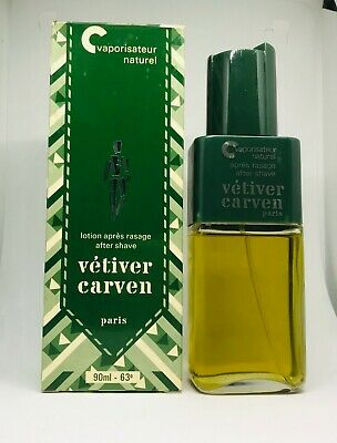 Carven - Vetiver Carven After Shave Lotion Spray Without Gas 90ml - New & Rare
