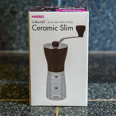 Hario MSS-1TB Coffee Mill Ceramic Slim Hand Grinder