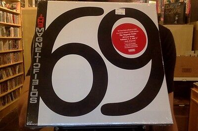 "Magnetic Fields 69 Love Songs 6x10"" Box Set sealed vinyl + download + book"