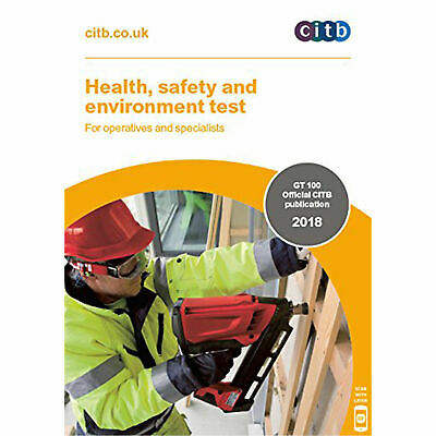NEW CITB 2018 CSCS Card Test Health Safety and Environment for Operatives DVD CD