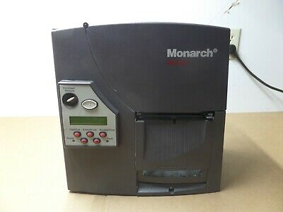 Paxar Monarch 9825 M09825 Thermal Barcode Label Printer Parallel Serial USB M4
