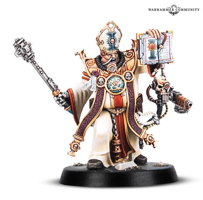 Warhammer Quest Blackstone Fortress Ministorum Priest Taddeus the Purifier 40K