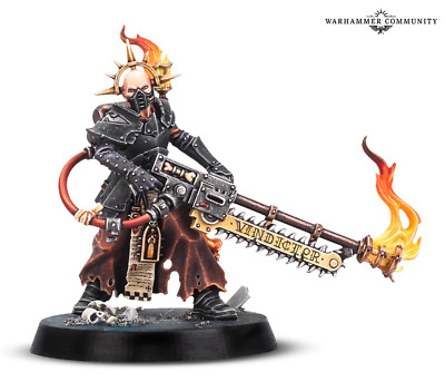 Warhammer Quest Blackstone Fortress Missionary Zealot Pious Vorne new on Sprue
