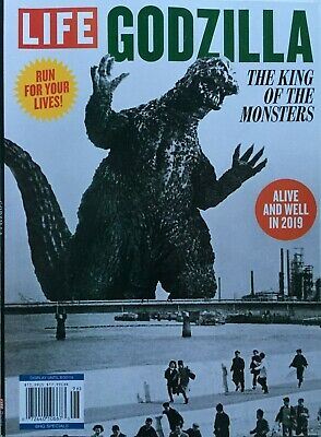 GODZILLA KING OF THE MONSTERS - ALIVE & WELL IN 2019 LIFE SPECIAL Magazine MINT!