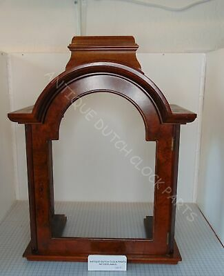 Original Walnut Hood For Warmink Grandfather Clock