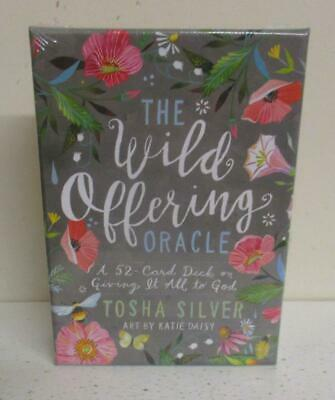 Unopened Boxed Set: The Wild Offering Oracle; Tosha Silver; 52 Card Deck