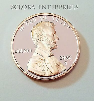 2002 S Lincoln Memorial *Proof* Cent / Penny  **Free Shipping**