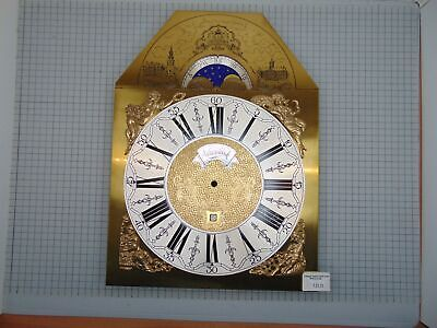 Original Warmink Grandfather Clock Dial With Date And Moon