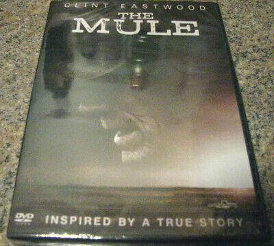 The Mule (Dvd 2019) Clint Eastwood In Stock~ New With 1St Class Shipping/Track