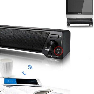 TV Sound Subwoofer Bar Home Theater Soundbar with Bluetooth Wired / Wireless