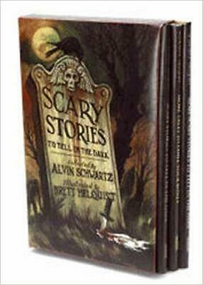 Scary Stories Box Set: Complete Collection with Brett Helquist Art PAPERBACK NEW
