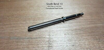 South Bend 13 Compound Feed Screw + Nut