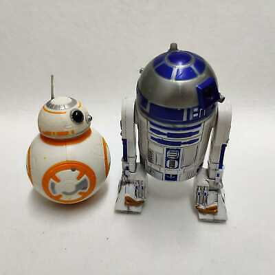 Lot of 2pcs Star Wars R2-D2 & BB-8  Droid Action Figure Force Awakens Boy Toy