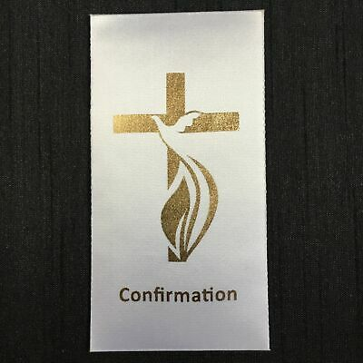 DIY CONFIRMATION (A) Sacrament Motif Iron-On/Sew-On to existing stole/sash