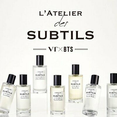 BTS perfume Limited edition package Perfume 50ml + postcard set + acrylic stand