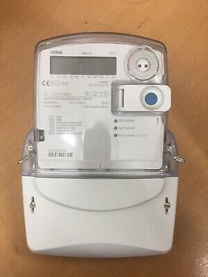 Iskra MT174 3phase Electricity Watt Hour Meter 230 400 Volts MID Approved Import