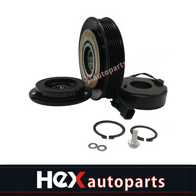 AC A//C COMPRESSOR CLUTCH KIT PULLEY COIL PLATE FITS: 2006 Tacoma 4 CYL 2.7L