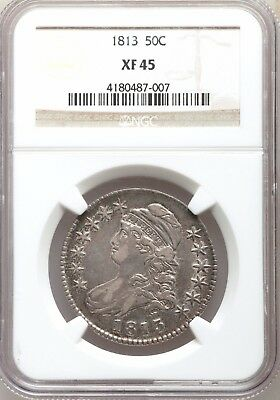 1813 NGC XF45 Capped Bust Silver Half Dollar   Best Price on eBay  Type Coin
