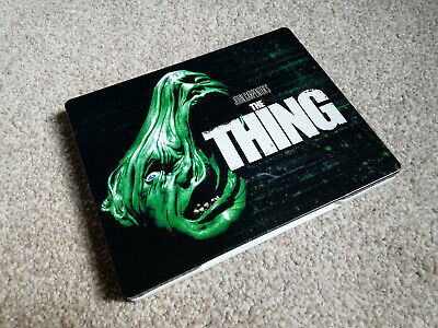 The Thing Bluray Steelbook Play.com 1st release Limited Edition
