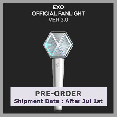 [PRE-ORDER] EXO Official FANLIGHT VER 3 FULL BOX New Light Stick #5 EXplOration