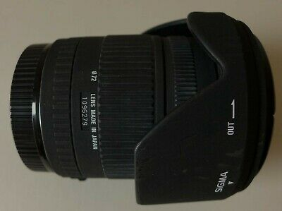 Sigma DC 17-70mm F/2.8-4.5 DC Lens For Canon EF-S mount, good condition.