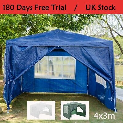 3Mx4M Party Tent Outdoor PE Garden Gazebo Marquee Canopy Awning Waterproof Kit