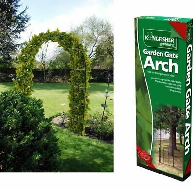 NEW GARDEN ARCH FOR CLIMBING PLANTS TRELLIS ROSE 2.4mx1.4m IVY ARCHWAY METAL