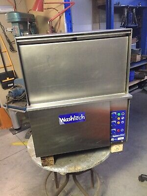used commercial Kitchen Glass Washer Washtech GE Bar Glass Washer