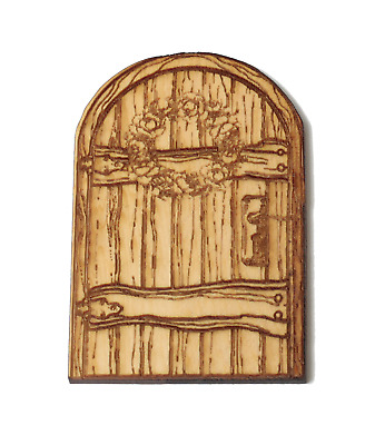 Fairy tree magic secret door solid Australian made  timber  73x50mm solid pine