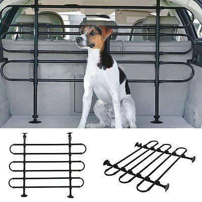 Deluxe Adjustable Tubular Dog Guard// Pet Barrier for FORD MONDEO HATCH 07-ON