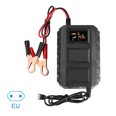 Intelligent 12V 20A Automobile Batteries Lead Acid Smart Battery Charger EU Plug