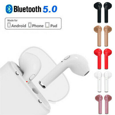 i7S TWS Bluetooth Earbud Headset Wireless Earphone Headphone for iPhone Android