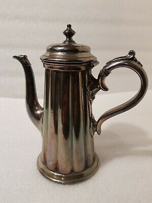 James Dixon & Sons Sheffield Large Coffee Pot 4049, 11 inch tall, 984 g / c1900