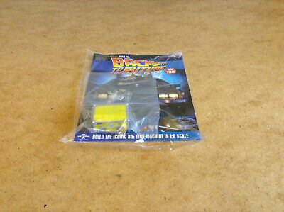 Build Back To The Future Delorean Time Machine Issue 128 1:8 Scale Diecast Parts