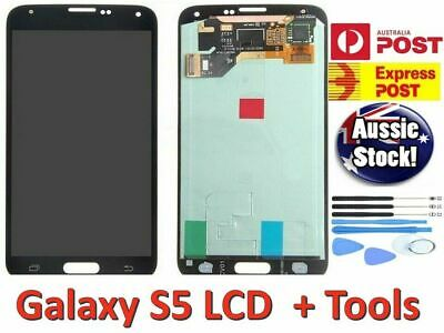 For Samsung Galaxy S5 LCD Touch Screen Digitizer Assembly Replacement + Tools