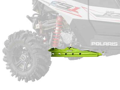 SuperATV Rear Trailing Arms for Polaris RZR RS1 (2018+) - Lime Squeeze