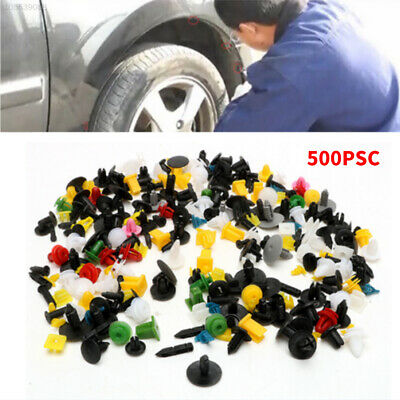 91FB 004A 500PCS Rivet Fasteners Auto Fastener Car Body Trim Moulding Door Panel