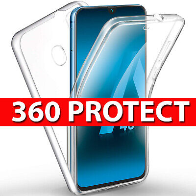 Case for Samsung Galaxy A70 360 Shockproof Protective Silicone TPU Gel Cover