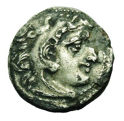 Kings Of Macedon. Alexander Iii The Great Plated Ar Drachm (240L)