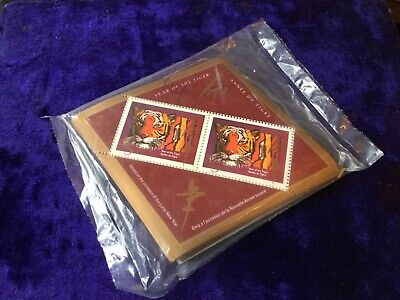Canada Mint  1708a VF sealed pack of 50 S/S of 2, 1998 Lunar New Year of Tiger