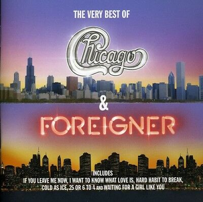 Chicago & Foreigner - Very Best Of Chicago & Foreigner (CD Used Very Good)