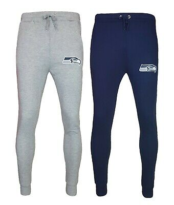 NFL Seattle Seahawks Tracksuit Pants Mens Jog Bottoms Trousers Joggers