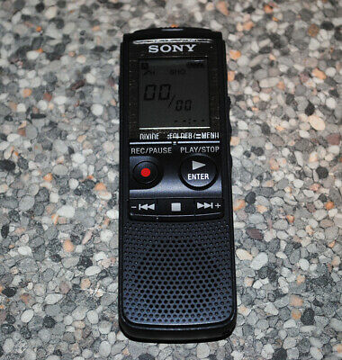 Sony ICD-PX820 Digital Voice Recorder with Flash 2 GB Dictaphone 535 Hours