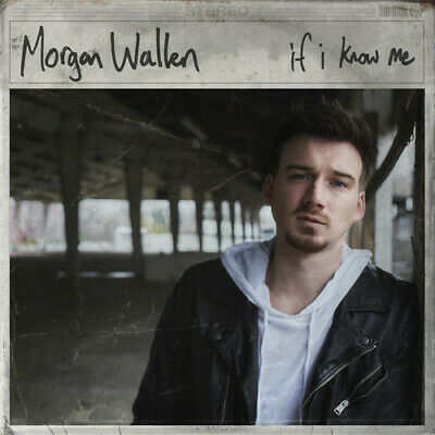 Morgan Wallen - If I Know Me 860001378320 (CD Used Very Good)