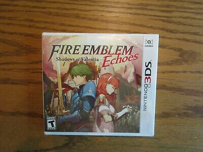 Fire Emblem Echoes: Shadows of Valentia (Nintendo 3DS, 2017) New Sealed