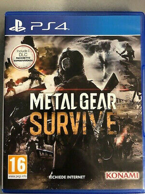 Sony Playstation 4 Ps4 Metal Gear Survive Pal Italiano Completo ☆