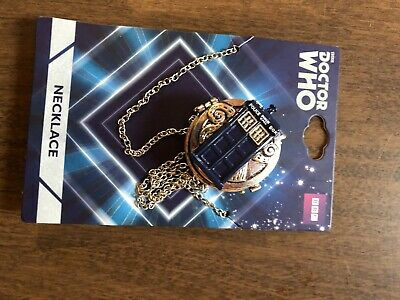 Dr Who Tardis Hot Topic Compass New Bbc