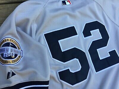 new product bc8f3 5a6cc NEW YORK YANKEES 2009 Inaugurial Season CC Sabathia Jersey #52 Size 48  Adult L