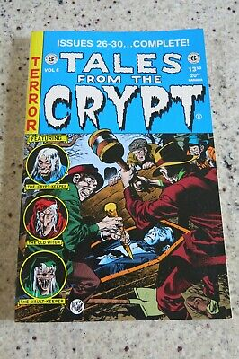 Tales From The Crypt Volume 6 Sc Tpb Collects Ec 26-30 Very Rare Oop Gemstone