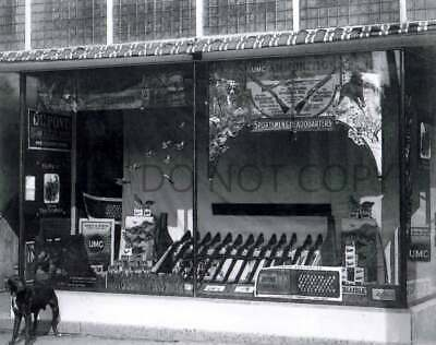 Antique Repro 8X10 Photo Hunting Store Advertising Display Umc Dupont Infallible